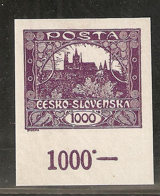 26 a  krajový kus s počítadlem 1000 h modrofialová, zk.Ka ; ZP 100 ! s počítadlem 1000 :-